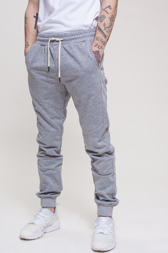 Брюки TRUESPIN Sweat Jogger Pants Grey Melange фото 7