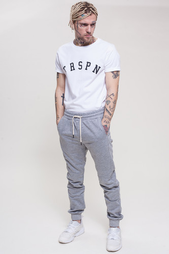 Брюки TRUESPIN Sweat Jogger Pants Grey Melange фото 8