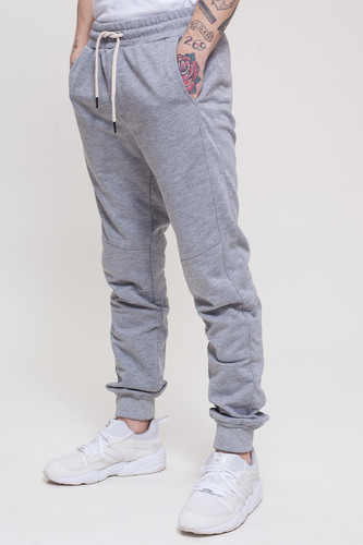 Брюки TRUESPIN Sweat Jogger Pants Grey Melange фото 9