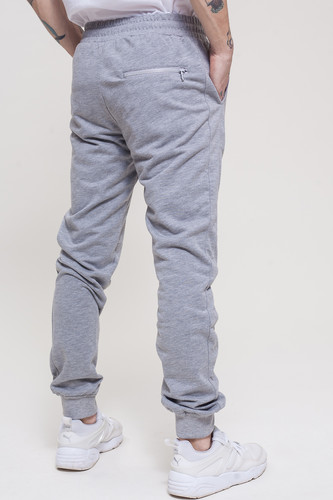 Брюки TRUESPIN Sweat Jogger Pants Grey Melange фото 10