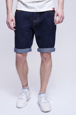 Шорты ЗАПОРОЖЕЦ Basic Denim Short Zap Regular Flex Raw Blue 45 фото
