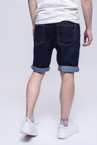 Шорты ЗАПОРОЖЕЦ Basic Denim Short Zap Regular Flex Raw Blue 45 фото 6