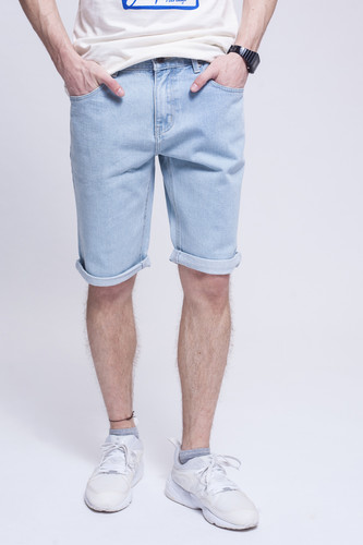 Шорты ЗАПОРОЖЕЦ Basic Denim Short Zap Regular Flex Light Blue 44 фото 5
