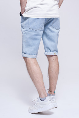 Шорты ЗАПОРОЖЕЦ Basic Denim Short Zap Regular Flex Light Blue 44 фото 2