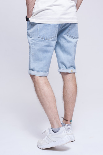 Шорты ЗАПОРОЖЕЦ Basic Denim Short Zap Regular Flex Light Blue 44 фото 6