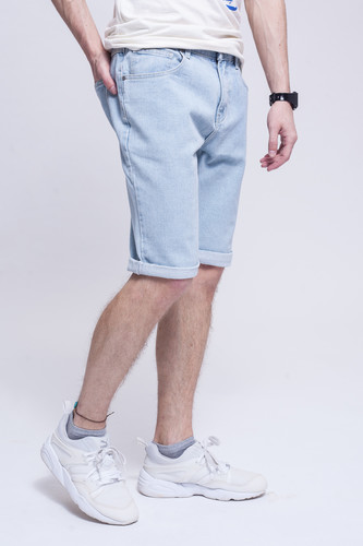 Шорты ЗАПОРОЖЕЦ Basic Denim Short Zap Regular Flex Light Blue 44 фото 7