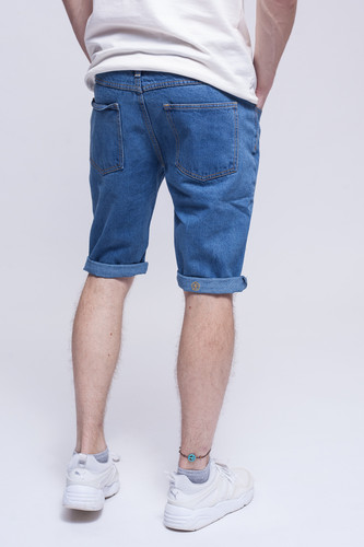 Шорты ЗАПОРОЖЕЦ Basic Denim Short Zap Regular Flex Classic Blue 42 фото 5