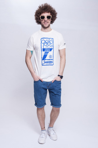Шорты ЗАПОРОЖЕЦ Basic Denim Short Zap Regular Flex Classic Blue 42 фото 6