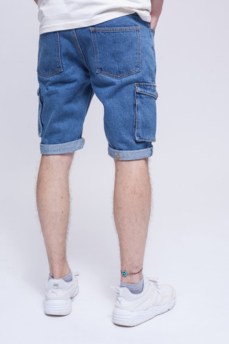 Шорты ЗАПОРОЖЕЦ Pocket Denim Short Zap Regular Flex Classic Blue 42 фото 6