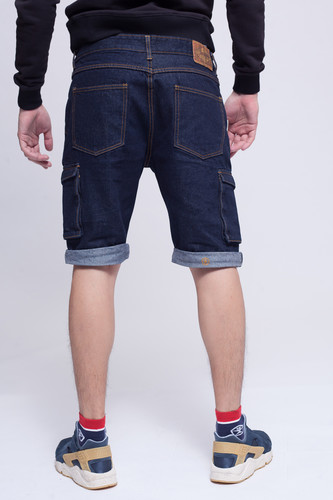 Шорты ЗАПОРОЖЕЦ Pocket Denim Short Zap Regular Flex Raw Blue 45 фото 5