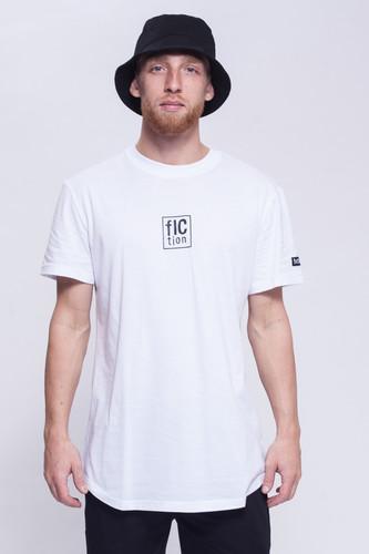 Футболка FICTION WEAR Белая (Белый, L) футболка fiction wear черная черный xl