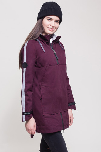 Куртка FREE FLIGHT SportWave женская (Wine, XS)