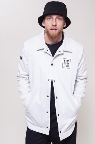 Куртка FICTION WEAR Белая (Белый, L) куртка утепленная conso wear conso wear mp002xw0tupn