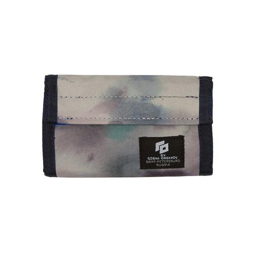 Кошелек Гоша Орехов Wallet Pattern (Синий-01628) карманы и панно jollein настенный карман для мелочи