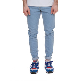 Джинсы ЗАПОРОЖЕЦ Carrot Fit Men's Denim ZAP-01R2 Light Blue фото 2