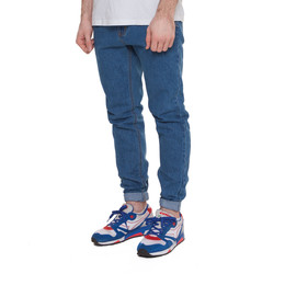 Джинсы ЗАПОРОЖЕЦ Carrot Fit Men's Denim ZAP-01R2 Mid-Blue фото