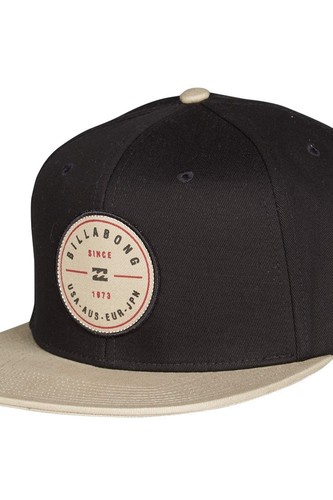 Кепка BILLABONG ROTOR SNAPBACK (BLACK/TAN)