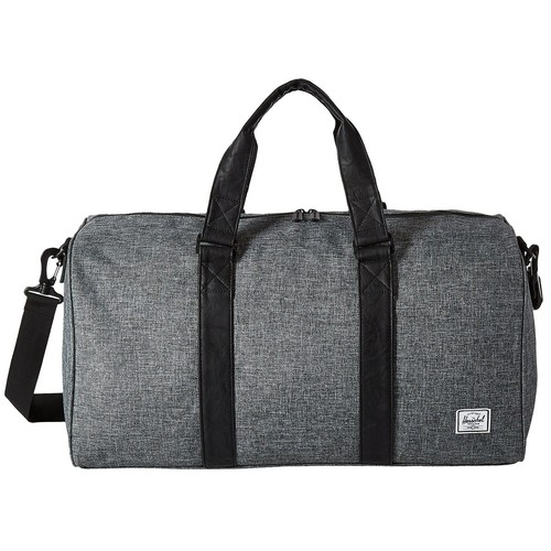 Сумка HERSCHEL RAVINE (Raven Crosshatch/Black Synthetic Leather) кепка herschel 172 black