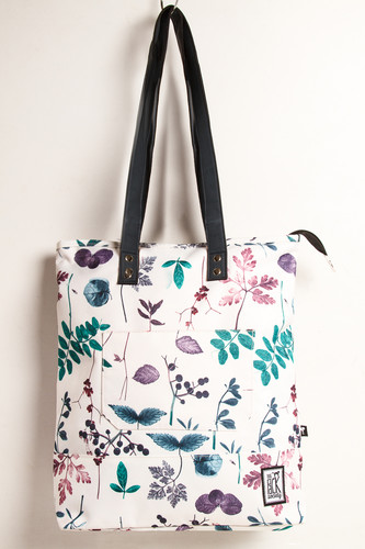 Сумка THE PACK SOCIETY Shopper 174CPR772.91 (White Floral Allover)