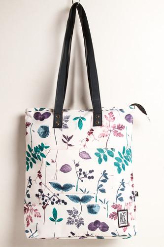 цена на Сумка THE PACK SOCIETY Shopper 174CPR772.91 (White Floral Allover)