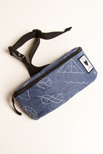 Сумка THE PACK SOCIETY Bum Bag 181COL782.26 (Blue Speckles Allover)
