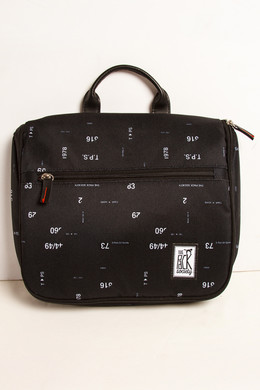Сумка THE PACK SOCIETY Toiletry Bag 174CPR644.70 Black Numbers Allover фото