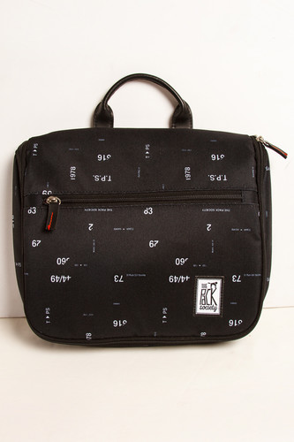 Сумка THE PACK SOCIETY Toiletry Bag 174CPR644.70 (Black Numbers Allover)