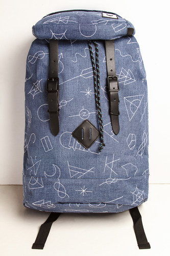 Рюкзак THE PACK SOCIETY Premium 181COL703.26 (Blue With White Embroidery)