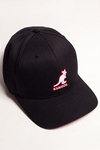 Бейсболка KANGOL 3D Wool Flexfit (Black-BK001, L/XL) шляпа kangol купить в москве