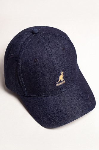 Бейсболка KANGOL Denim Baseball (Indigo-IN424, L/XL) цена