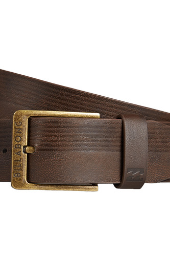 Ремень BILLABONG VACANT BELT (CHOCOLATE) худи billabong billabong bi009emefex9