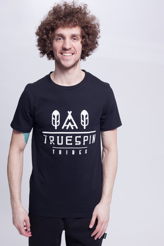 Футболка TRUESPIN #8 (Deep Black, M) цена и фото
