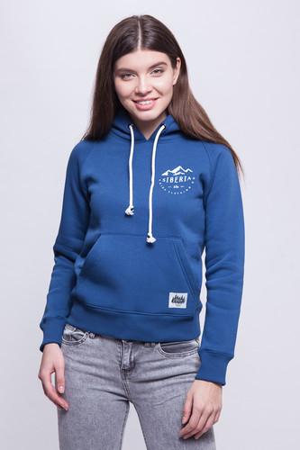 Толстовка ТАЙГА Siberia Blue женская (Синий, M)