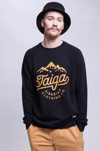 Толстовка ТАЙГА Taiga Logo (Черный, XL) толстовка мужская karff цвет черный синий 93031 04 размер xl 54