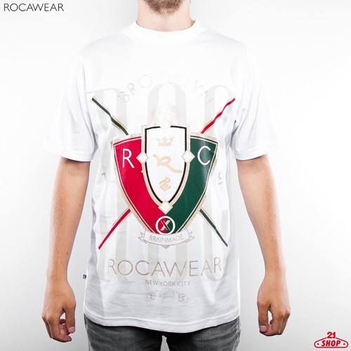 Футболка ROCAWEAR Crown (White, S) цены онлайн