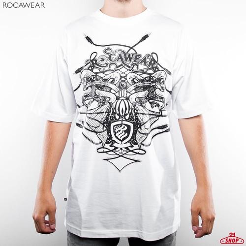 Футболка ROCAWEAR Medusa (White, M) стоимость