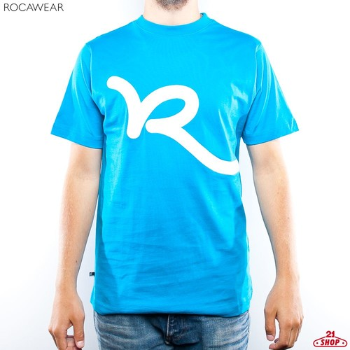 Футболка ROCAWEAR Swinger (Process-Blue, XL) цены онлайн