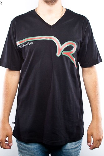 Футболка ROCAWEAR Zuluking (Black, XL) футболка estevan oriol protein black xl
