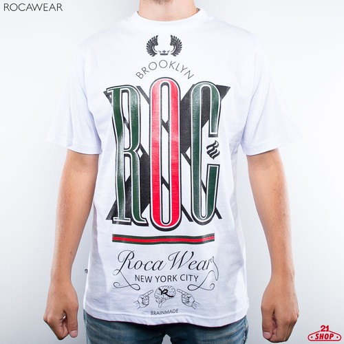 Футболка ROCAWEAR Standup (White, XL) цены онлайн