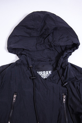 Парка URBAN CLASSICS Ladies Asymetric Parka Black фото 12