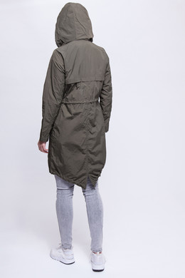 Парка URBAN CLASSICS Ladies Asymetric Parka Dark Olive фото 2