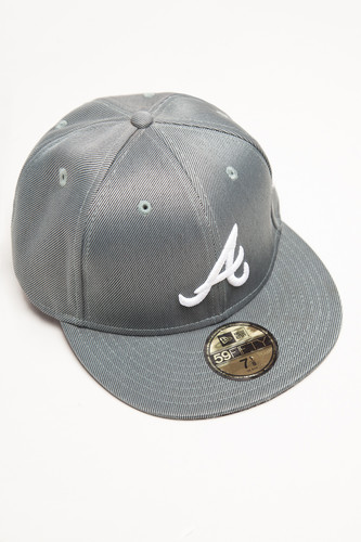 Бейсболка NEW ERA Atlanta (Grey, 7) цена