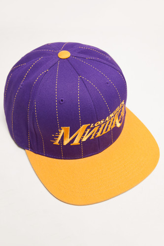 Бейсболка МИШКА Baller Ii Starter Snapback (Purple, O/S)