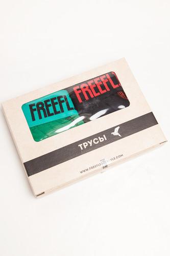 Трусы FREE FLIGHT Vol.8 (Green/Black, XS)