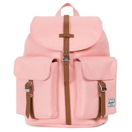 Рюкзак HERSCHEL DAWSON WOMENS (UPDATE) (Peach/Tan Synthetic Leather) рюкзак herschel post mid volume navy tan synthetic leather