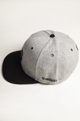 Бейсболка TRUESPIN Abc Snapback 2016 Dark Grey/Black Leather фото 2