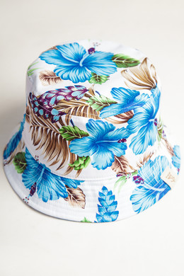 Панама TRUESPIN Paradise Bucket Hat Blue фото
