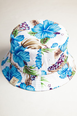 Панама TRUESPIN Paradise Bucket Hat Blue фото 2