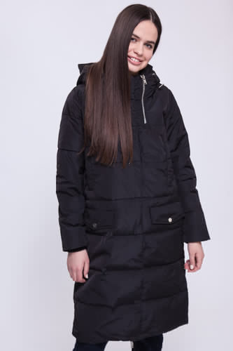 цена Куртка URBAN CLASSICS Ladies Bubble Coat (Black, L) онлайн в 2017 году