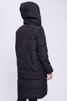 Куртка URBAN CLASSICS Ladies Bubble Coat Black фото 2